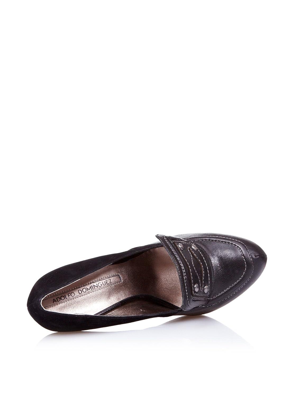 Adolfo Domínguez Faustine, Mocasines para Mujer, Negro, 40 EU: Amazon.es: Zapatos y complementos