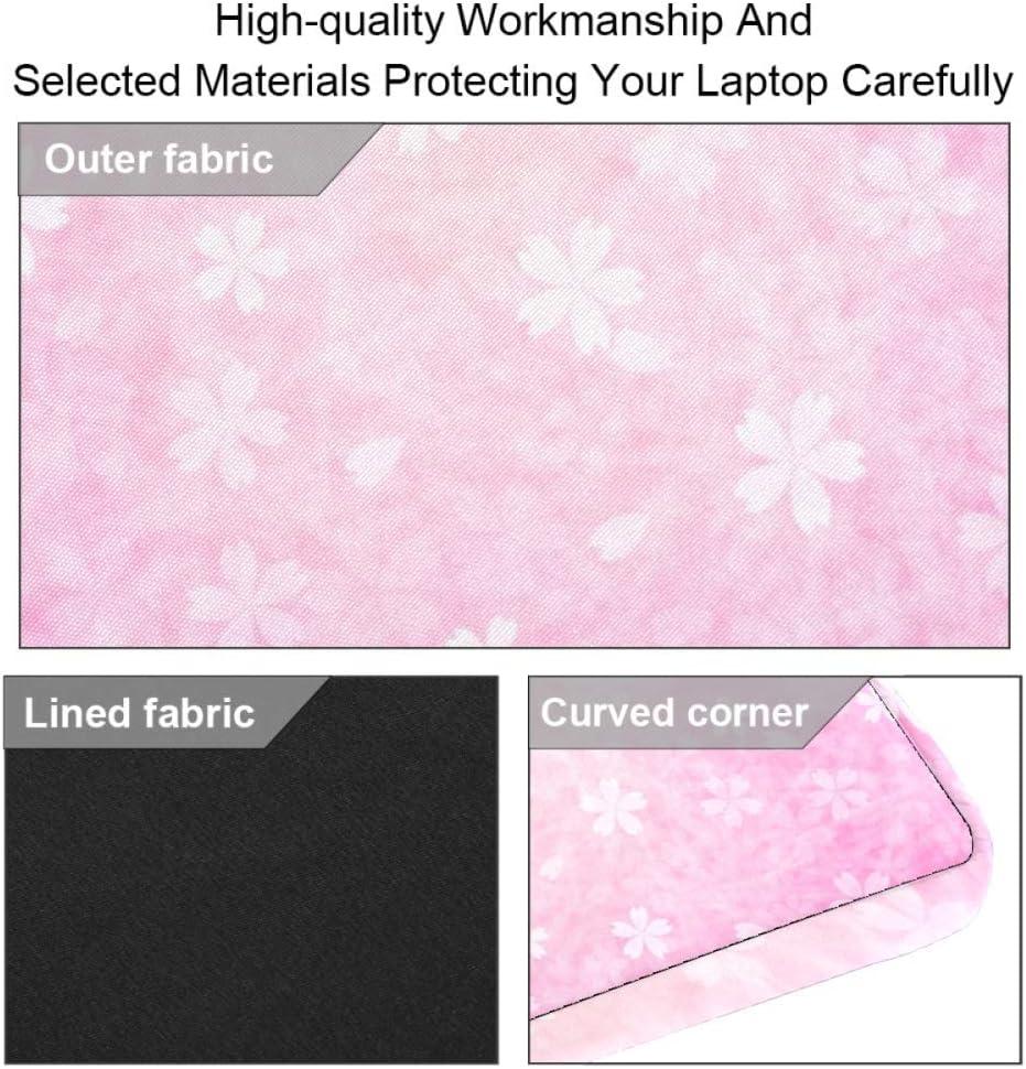 imobaby Flowers On Pink Laptop Messenger Shoulder Bag Notebook Sleeve Carrying Briefcase Handbag 15-15.4 inches