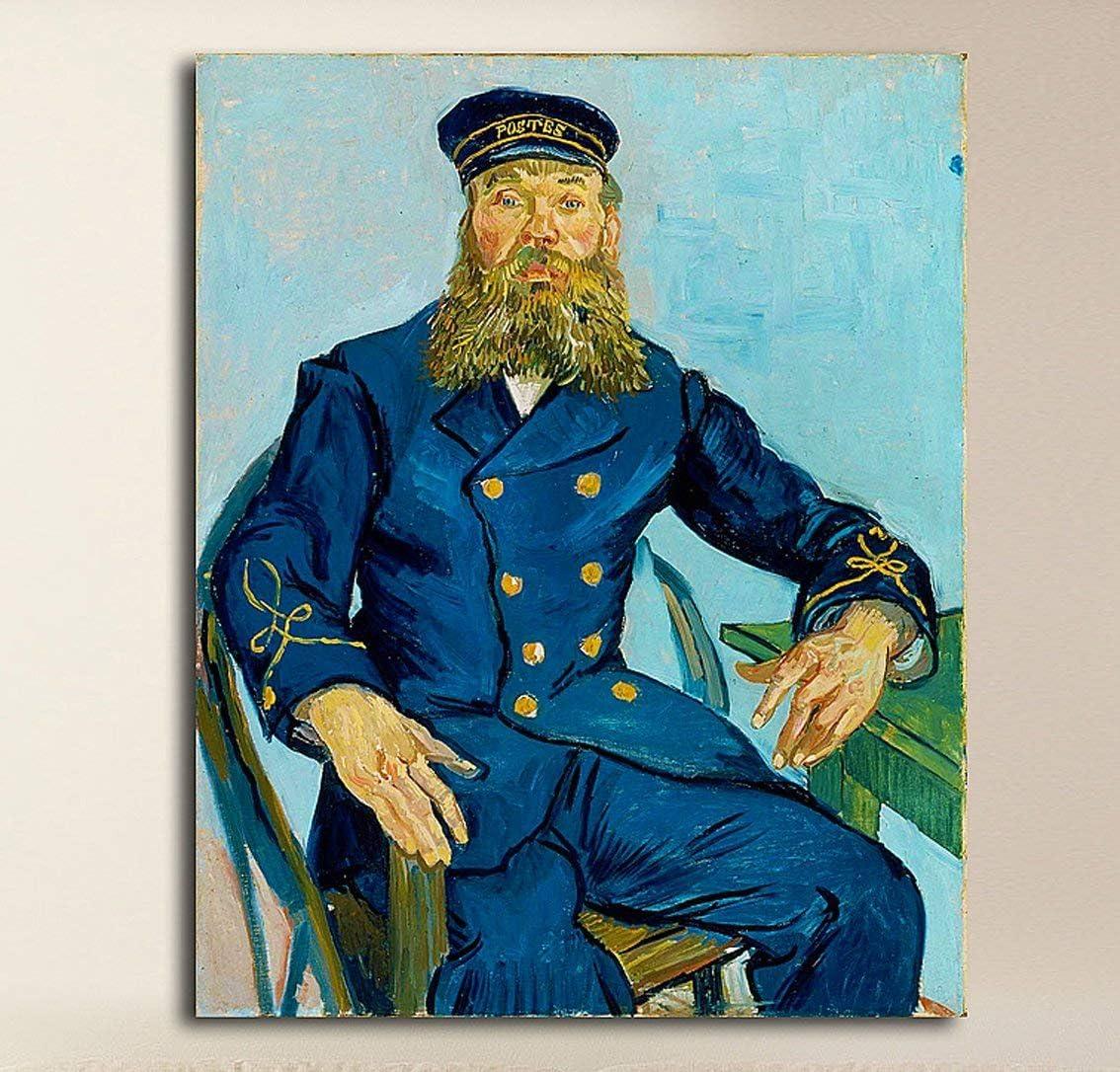 Grafic de van gogh – El cartero Joseph Roulin – Vincent Van Gogh ...