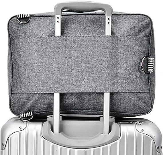 Men And Women Travel Bag Short-distance Travel Bag Large Size: 502829cm Color : Black , Size : 17.61010 inch Sports Bag Portable Large-capacity Sports Bag Business Bag Waterproof Gym Bag
