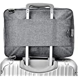RomWell Travel Duffel Bag Waterproof Fashion Lightweight Large Capacity Portable Luggage Bag (Greyish black)