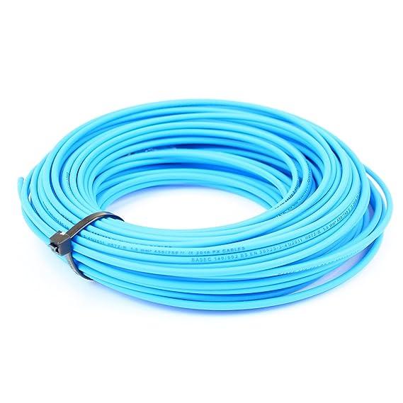 2.5 mm Single Core Conduit Cable 6491X Blue Live - 10 metre Cut ...