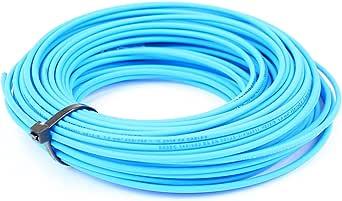 amarillo//verde tierra rollo completo /& Custom longitudes disponibles 6/mm Single Core Cable Conducto 6491/X azul Live marr/ón Neutral
