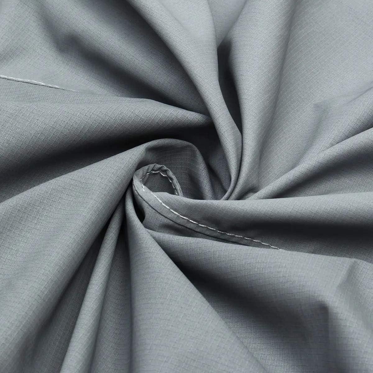 Ripari Moto impermeabili Teli per moto Impermeabile grigio motoslitta Coprimoto intemperie tessuto 110x 51 x 48inch Copertura del motociclo universale