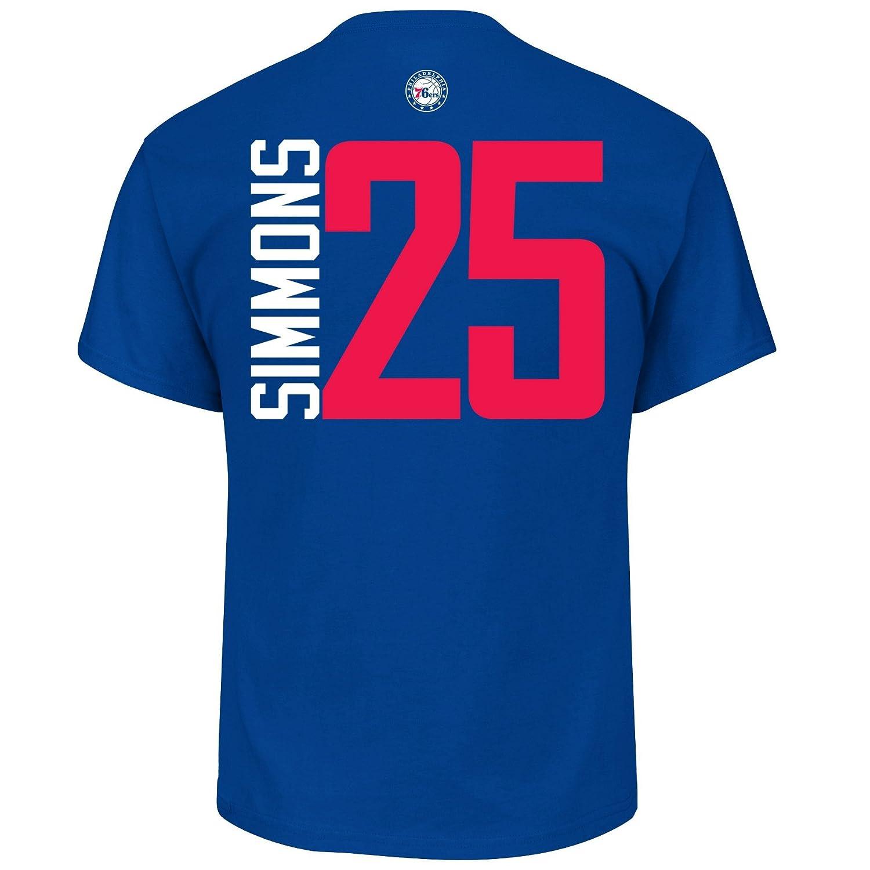 the latest 6ce67 8433d Amazon.com   Ben Simmons Philadelphia 76ers  25 NBA Men s Vertical Player T-shirt  (XX-Large)   Clothing