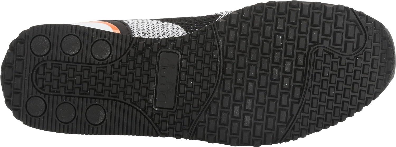 Diadora Unisex Titan Weave B06X9TJ9CJ 8.5 10 Women /+D409:D437  8.5 B06X9TJ9CJ Men M US|Black/White/Orange def5a0