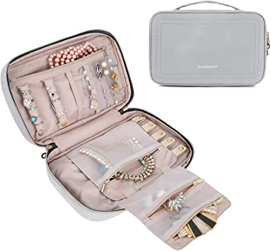 Jewellery Travel Organizer Travel Case Bridesmaid Gift Jewellery Storage Travel Pouch Jewellery Case Travel Organizer Travel Pouch