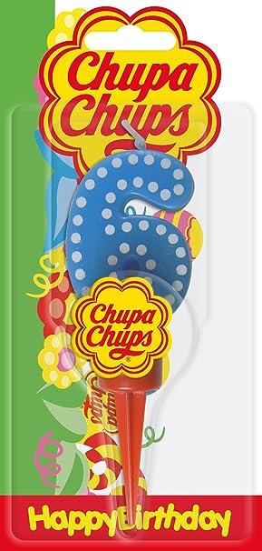 Cereria de Giorgio ch00001 _ 66 Vela Cumpleaños Chupa Chups ...