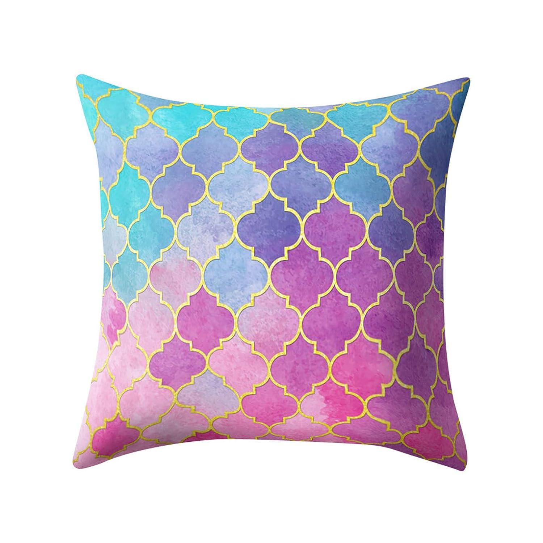 Taie d'oreiller coloré Rose Noir Or Housse de coussin Taie d'oreiller carrée Maison taie d'oreiller carrée Decoratio Bellelove