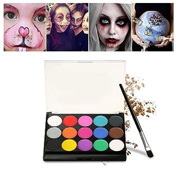 Schminke Make-Up, Kinderschminke 15 verschiedene Farben Profi ...