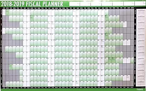 Calendario Fiscale.Calendario Fiscale 2018 2019 Agenda Da Parete Con Penna E