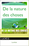 De la Nature des choses