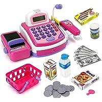 Vivir Electronic Cash Register Set Pretend Play Toys for Kids (Model 2)