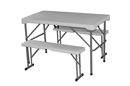 FT-31 Picnic and Camping Table and Bench Set - Perfect for Family ...