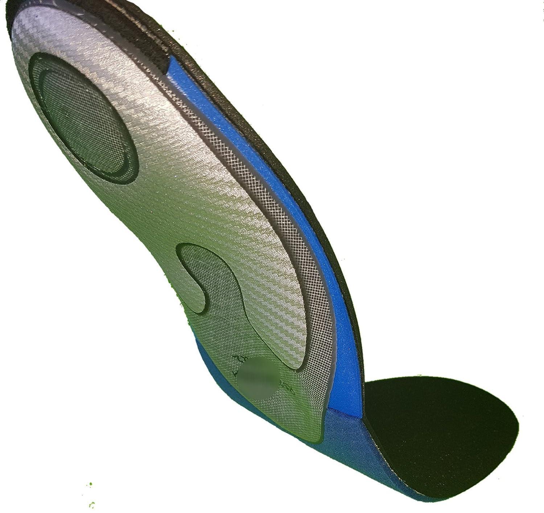 ZIFEET Semelle Running PRO 43-44 - Noir, Gris, Bleu