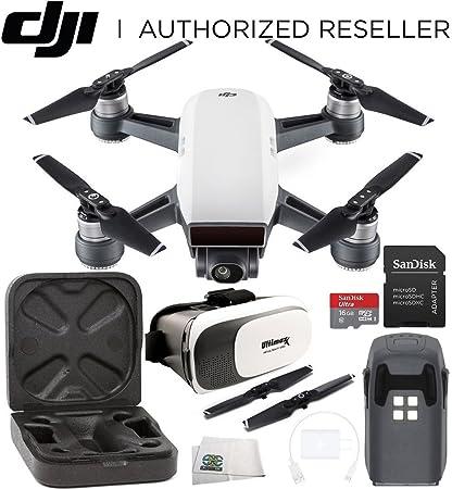 dji Spark Mini Drone Quadcopter Virtual Reality Experience VR ...