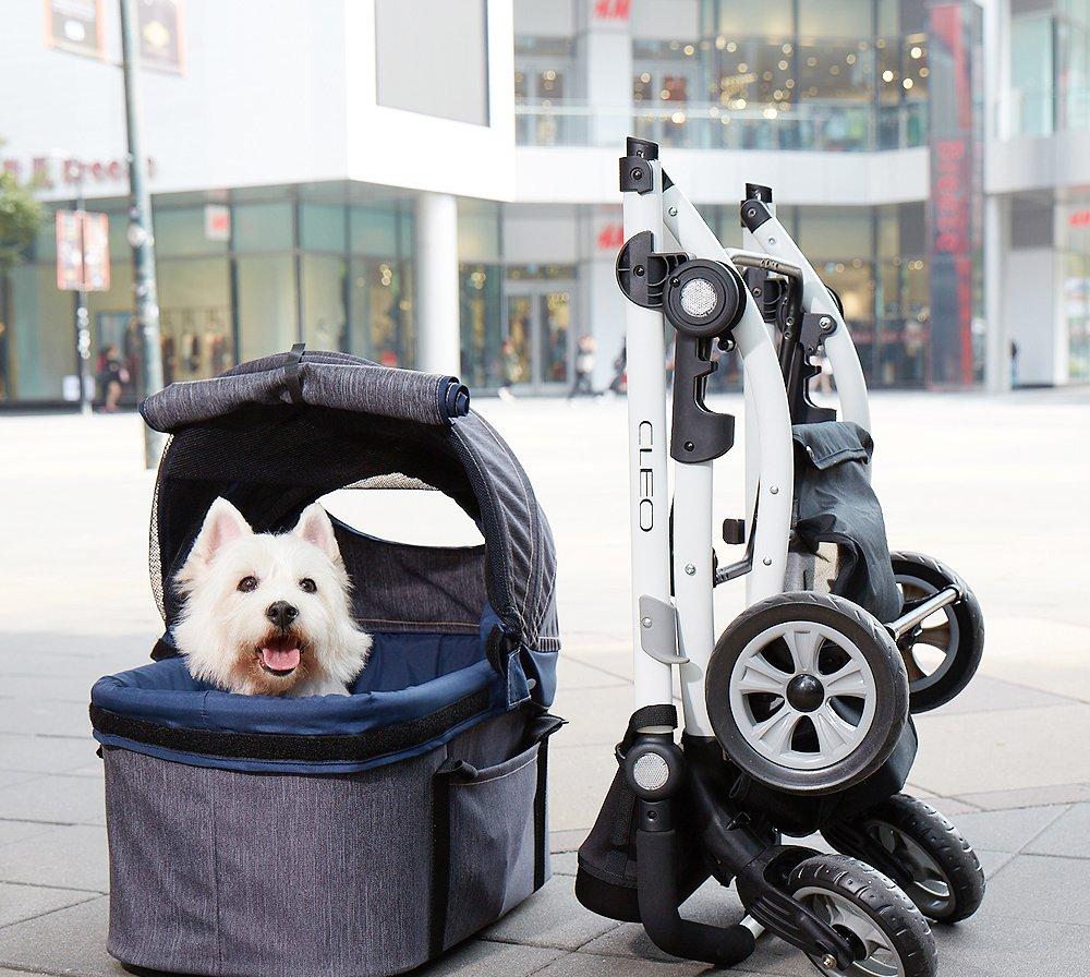 ibiyaya Cochecito para Mascotas Express Travel System Denim