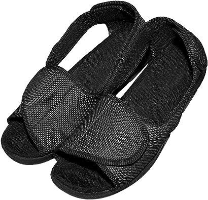 Cozy Ankle Men's Diabetic Slippers