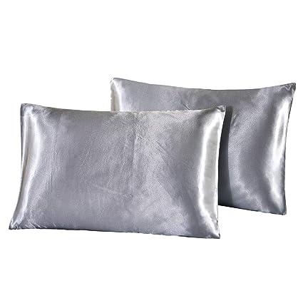 Amazon Com Dreamx Luxury Silk Satin Pillowcase For Hair And Skin