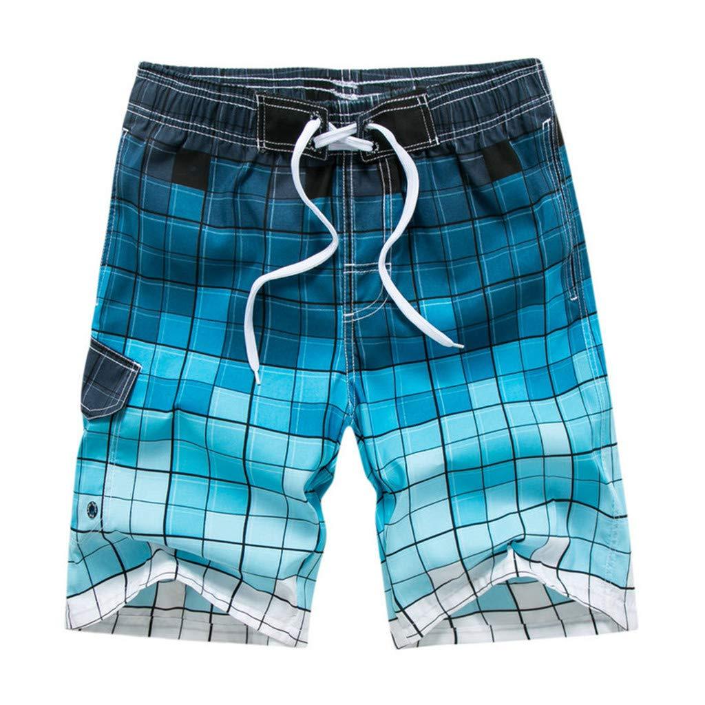 NJSSYO Summer Beach Mens Shorts Printing Casual Quick Dry Board Shorts Bermuda Mens Short Pants M-5XL 21 Colors