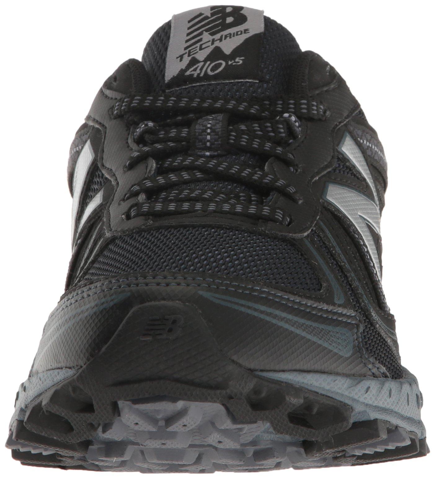 New Balance Men's MT410v5 Cushioning Trail Running Shoe, Black, 7 D US by New Balance (Image #4)