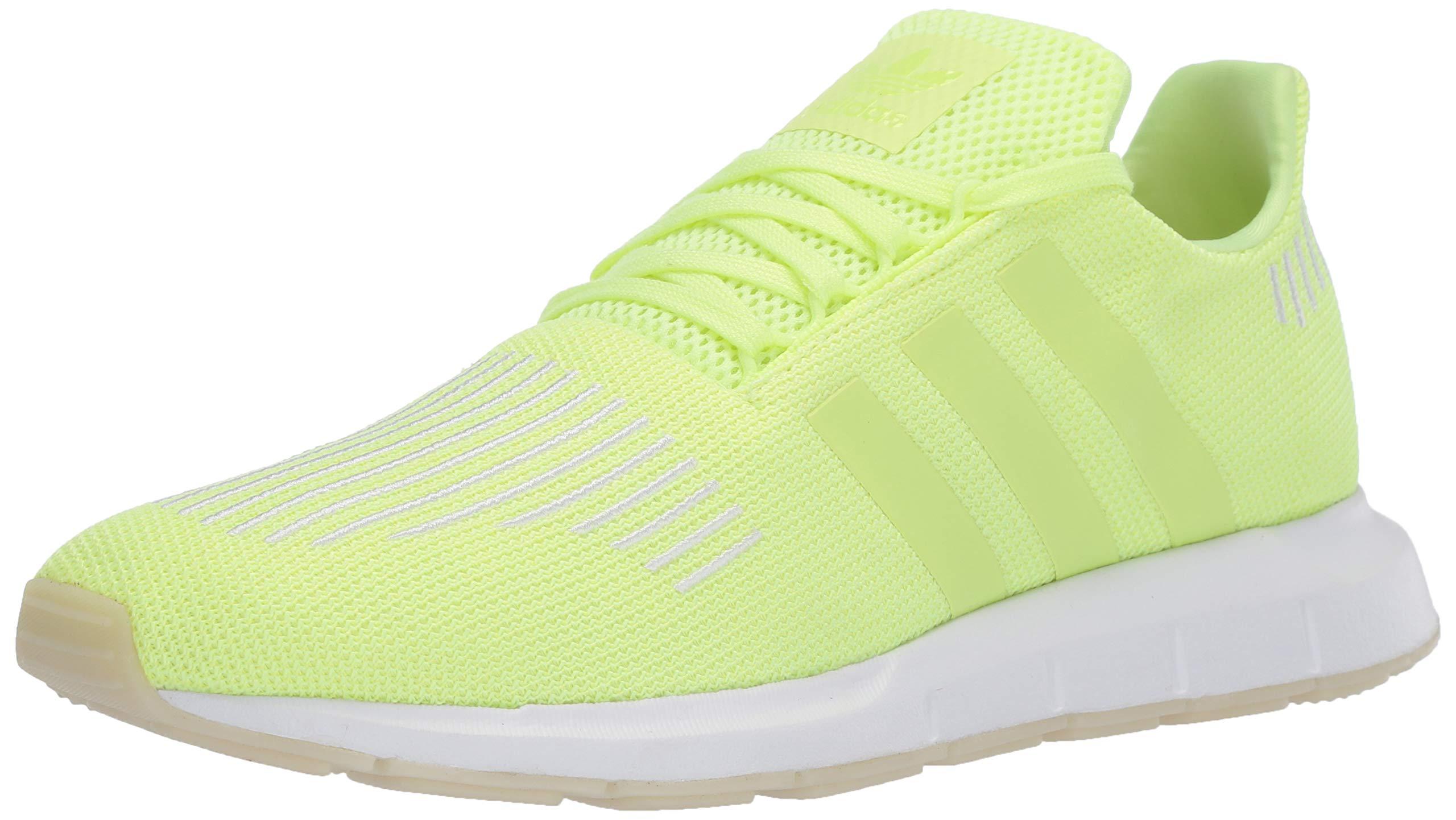 a87ad399aa158 Adidas Men's Swift Run Shoes,White/Core Black/Medium Grey Heather,11.5 M US
