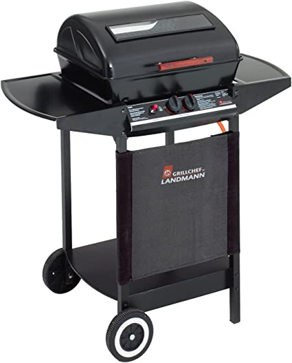 Landmann Grill Chef 12375 Ft 2 Burner Gas Barbecue With Flame Tamer Amazon De Garten