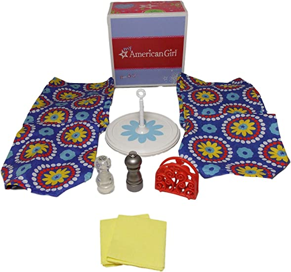 American Girl Dining Table Accessories Set for Dolls MY AG Chairs Not Included