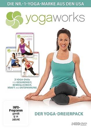Yogaworks - Der Yoga-Dreierpack [Alemania] [DVD]: Amazon.es ...
