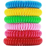 Mosquito Repellent Bracelet (20 pack), Hip2cart Natural Pure and Waterproof Wrist Band, Deet-free and Bugs Free, Lasts Up to 300 Hours for Kids and Adults