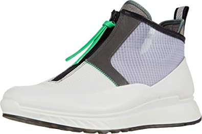 ECCO Men's St.1 Mid Cut Zip Sneaker