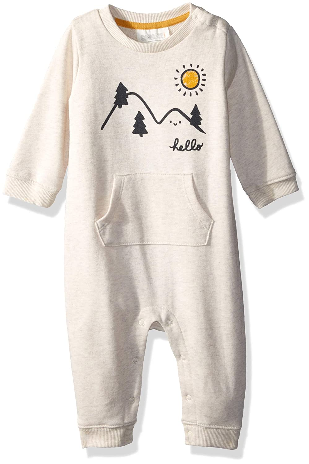 Gymboree Baby Boys Sleeve Long One-Piece,