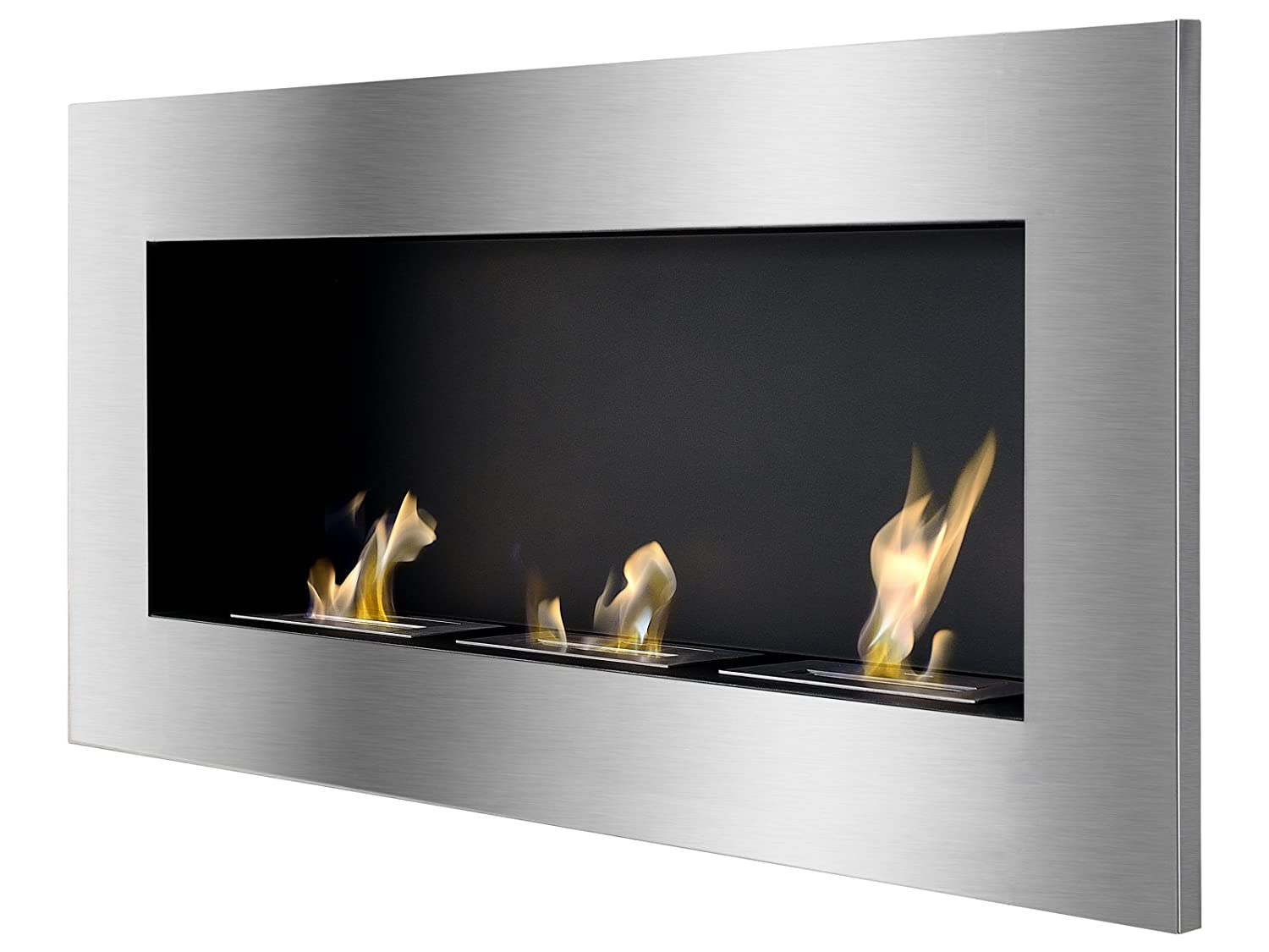 Amazoncom Ignis Ventless Bio Ethanol Fireplace Optimum Home Kitchen