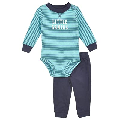 Carter's Baby-Boy 2-Piece Bodysuit & Pant Set (Little Genius)