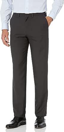 Haggar Men's Premium Comfort Straight Fit Flat Front Dress Pant