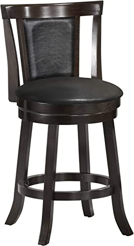 Monarch Specialties I Wood Swivel Barstool