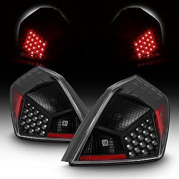 For 07-12 Nissan Altima L32A 4DR Sedan Black Bezel LED Tail Brake Light Lamp Assembly