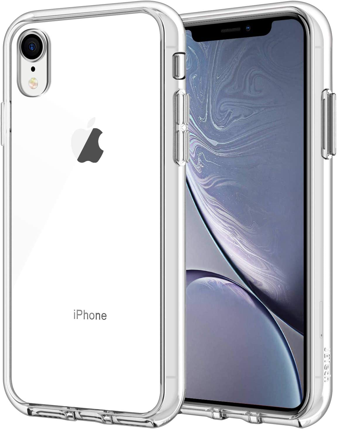 JETech Case for Apple iPhone XR 6.1-Inch, Shockproof Bumper Cover, HD Clear