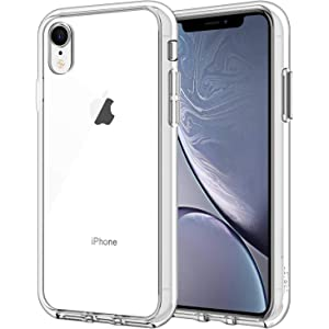 JETech Case for iPhone XR 6.1-Inch, Shock-Absorption Bumper Cover, HD Clear