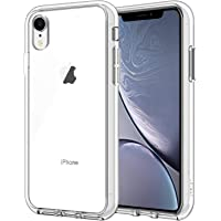 JETech Case for iPhone XR, 6.1-Inch, Shock-Absorption Bumper Cover, HD Clear