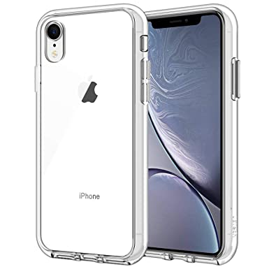 garegce iphone xr case clear shockproof bumper case
