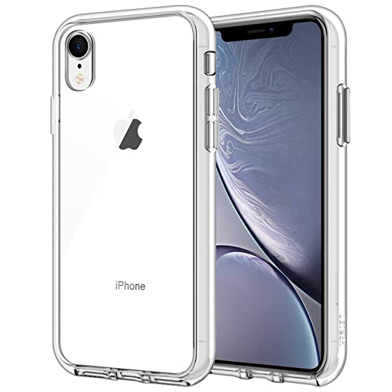 size 40 b84d9 96107 JETech Case for Apple iPhone XR 6.1-Inch, Shock-Absorption Bumper Cover, HD  Clear
