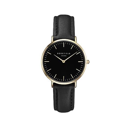 Rosefield Reloj Analógico para Mujer de Cuarzo con Correa en Cuero TBBG-T56: Amazon.es: Relojes