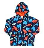 Kids Hooded Jacket Little Hand Boy Pullover Jumper Dinosaur Cartoon Children Windproof Coat Outdoor 1-7years