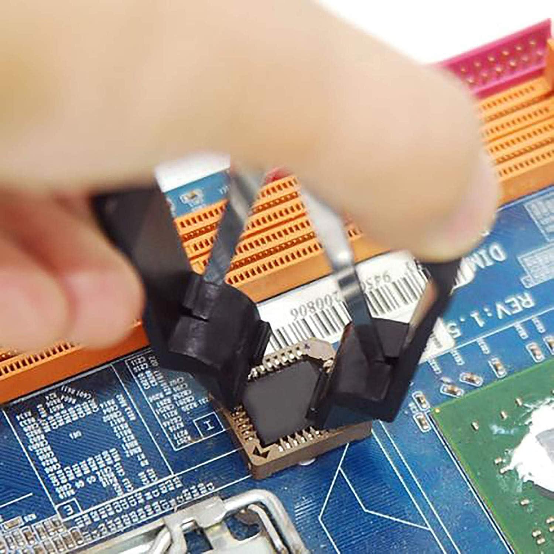 3PCS PLCC IC CHIP Extractor Tool Motherboard Circuit Board Puller Tool TWEEZERS