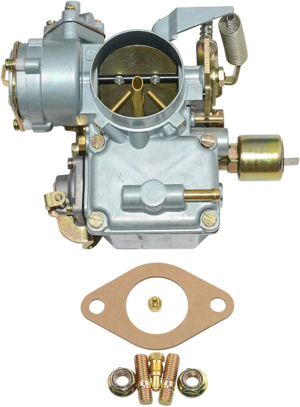 Nrpfell Carburatore per Auto 34 Carburatore PICT-3 12V Elettrico per Beetle 113129031K