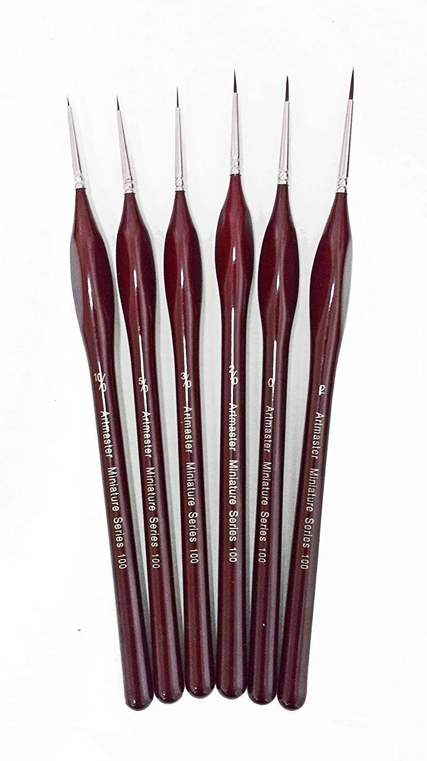 Artmaster Artists & Modelmakers Fine Detail Brush Set of 6 The Art Shop Skipton BCAC27503