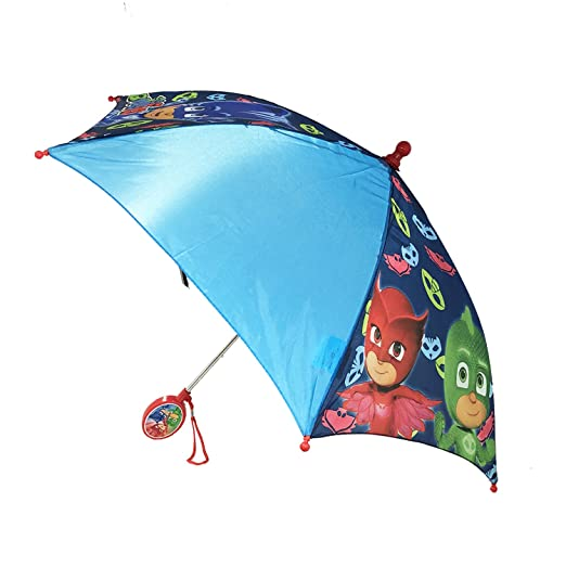 Amazon.com | Licensed PJ Masks: Owlette Gekko Boys Umbrella Handle for kids | Umbrellas