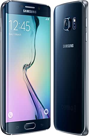 SAMSUNG Galaxy S6 Edge G925F - Teléfono Desbloqueado (32 GB), Color Negro