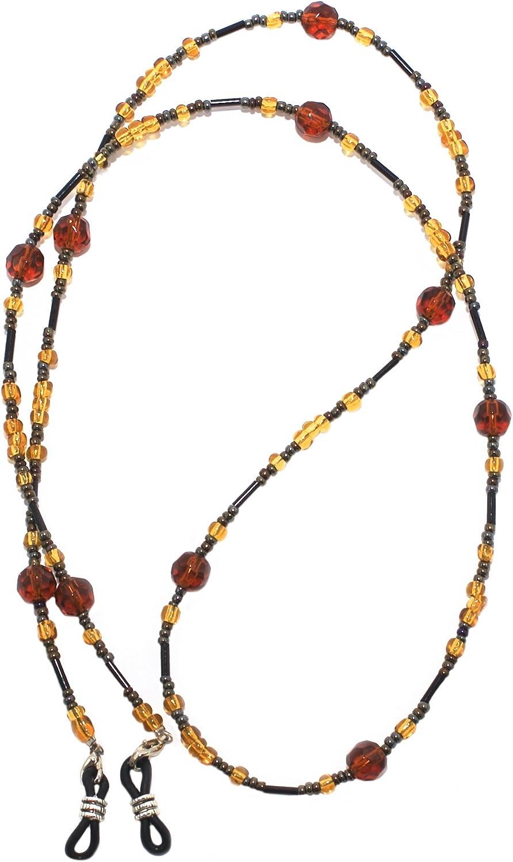 2 pezzi Laccetto cordino collana catena per occhiali da vista lettura azzurro